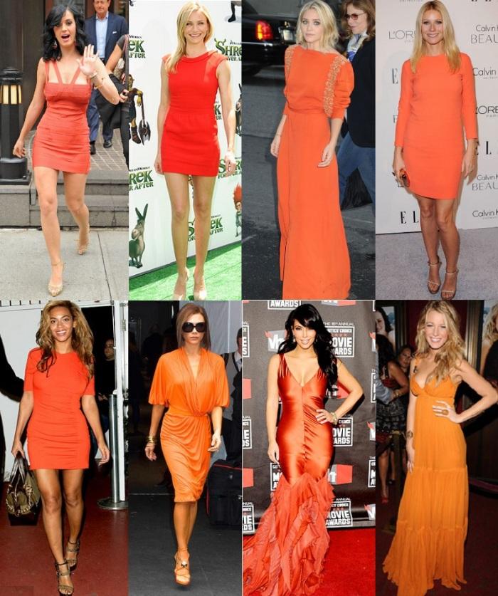 vestidos-laranjas famosas